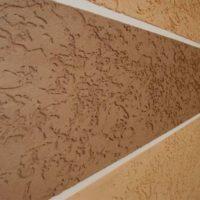 Технология нанесения декоративной фасадной штукатурки короед