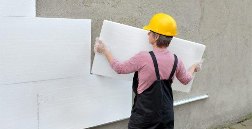 Как утеплить стены дома пенопластом своими руками?