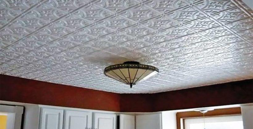 Потолочные плитки из пенопласта – уют за смешные деньги?!