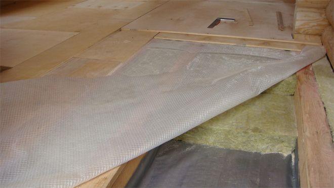 Утепление межэтажных, чердачных и потолочных перекрытий в частном деревянном доме
