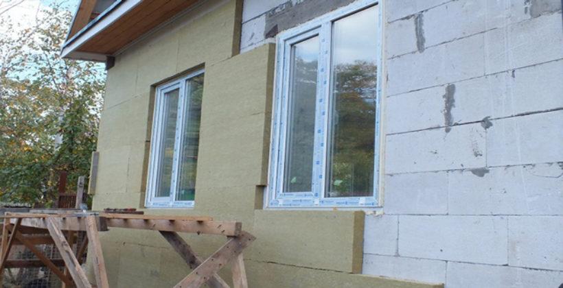 Подробная инструкция по внутренней и наружной теплоизоляции блочного дома