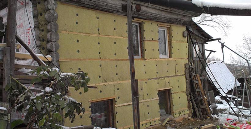 Особенности внутренней и наружной теплоизоляции старого деревянного дома