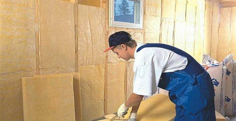 Особенности внутреннего утепления кирпичной стены минеральной ватой